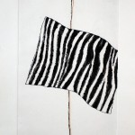 'Wired Stripe' Etching 400x240mm