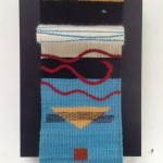 'Za-Zen' woven tapestry circa 20x15cm