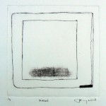 'Pieced' Drypoint 200mm square
