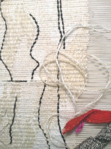 'Ravel and Roll' still on the loom